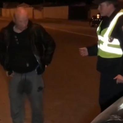 Получил по лицу и намочил штаны: пьяный водитель спровоцировал ДТП в Киеве (видео 18+)