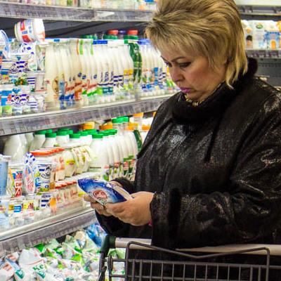 Киевлянка чуть не умерла после обеда в супермаркете