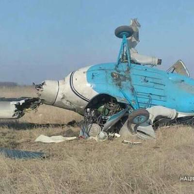 На Полтавщине разбился вертолет