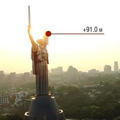 В Киеве открылась смотровая площадка на высоте птичьего полета (фото)