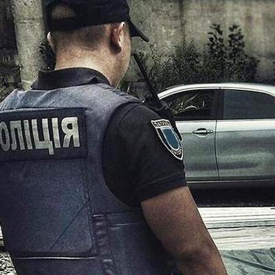 Водитель избил полицейского в Киеве во время задержания