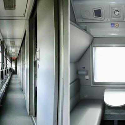 Глава «Укрзализныци» показал вагоны поездов после ремонта