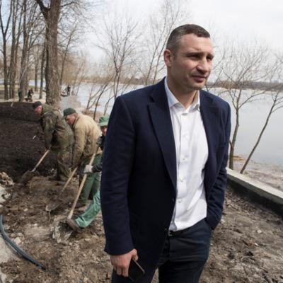 Кличко рассказал об обустройстве парка «Муромец» в Деснянском районе