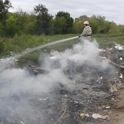 На Виннитчине во время сжигания мусора в костре сгорела 8-месячный ребенок