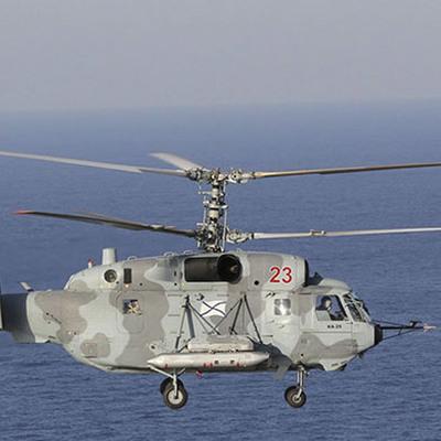 В Балтийском море упал российский военный вертолет, есть погибший