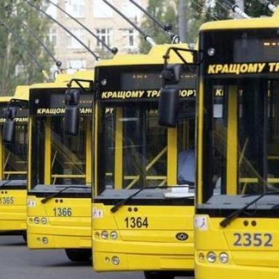 В ночь на 15 апреля в работу столичных троллейбусов вносятся изменения