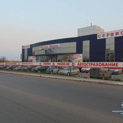 В Николаеве произошел взрыв гранаты в автосалоне