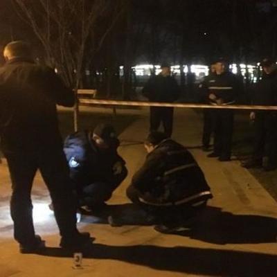 В одном из парков Киева в ходе конфликта произошел взрыв, есть пострадавшие