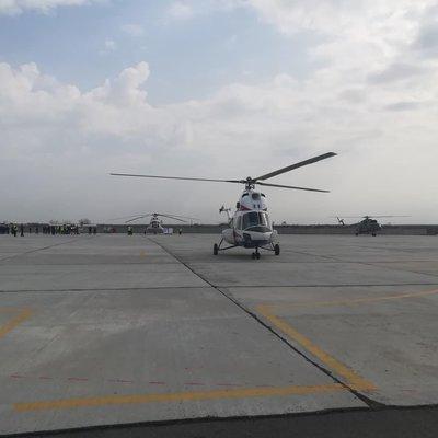 В Запорожье поднялся в воздух первый вертолет украинского производства