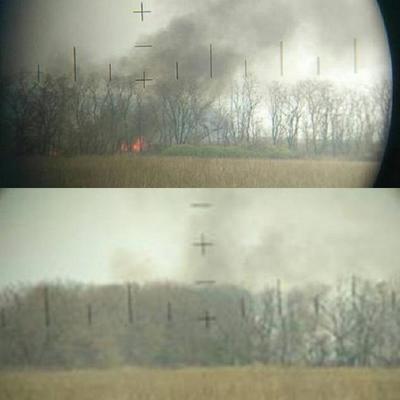 На Донбассе уничтожена позиция террористов - волонтер (фото)