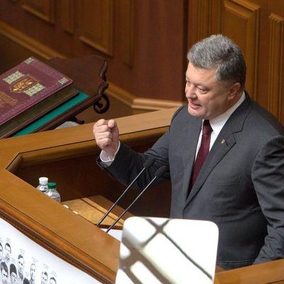 Порошенко обратился к депутатам: собственная церковь – атрибут независимого государства