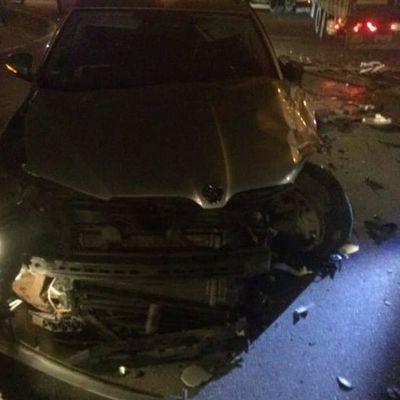 Пьяный священник убегал от копов и устроил ДТП в Ивано-Франковске