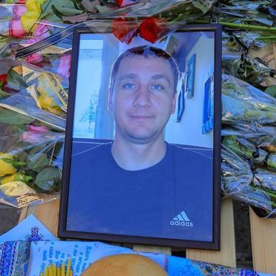 С погибшим в зоне АТО воином 53-й ОМБр Александром Матусом простились в Лисичанске (фото)