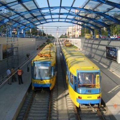В Киеве на четыре ночи закроют два маршрута трамваев