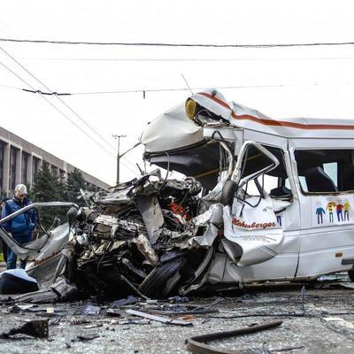 Кровавое ДТП в Кривом Роге: число погибших возросло до 10 человек