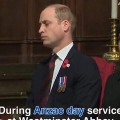 Папа устал: принц Уильям уснул на службе в Вестминстерском аббатстве (видео)