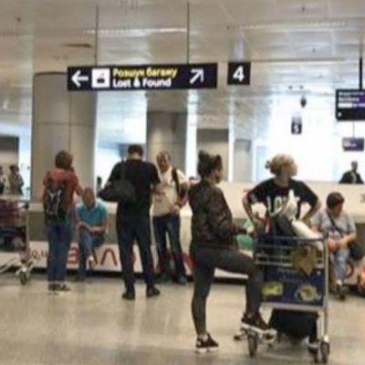 В «Борисполе» задержали пассажиров из-за стирального порошка