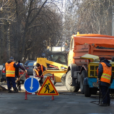 На ремонт дорог в Киеве выделили 1,2 млрд. гривен