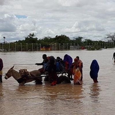 В Кении наводнение унесло жизни более сотни человек (видео)