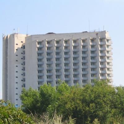 В Одесской области горел заброшенный 16-этажный отель