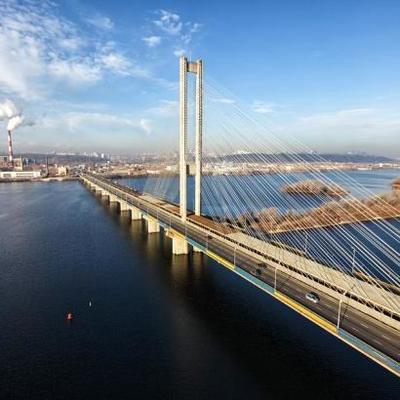 На Южном мосту Киева на три дня ограничат движение