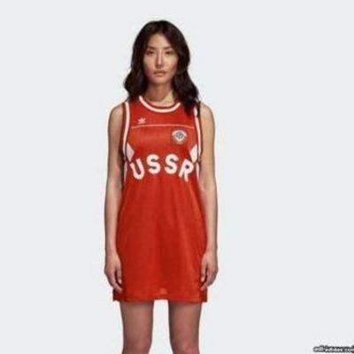 Сеть возмутило платье «из СССР» от Adidas