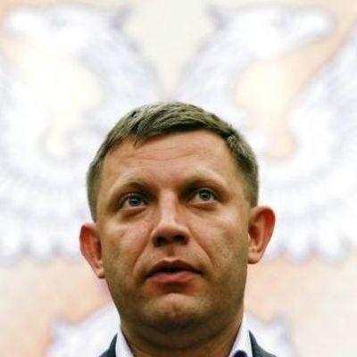 Захарченко рассказал о планах «ДНР»