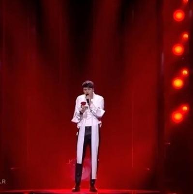 Украинец Alekseev в финал Евровидения не пробился: итоги первого полуфинала