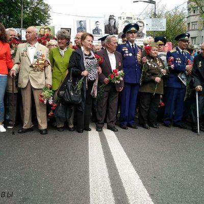 В Киеве на марше «Бессметный полк» произошла потасовка (фото)