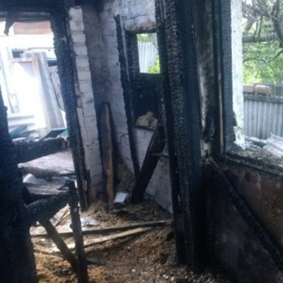 На Харьковщине мужчина и женщина погибли в пожаре