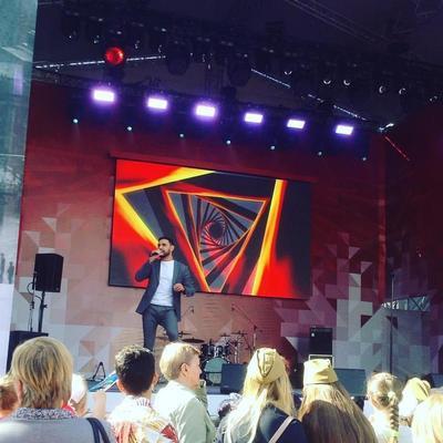 Козловский выступил на концерте в Москве к 9 мая (фото)