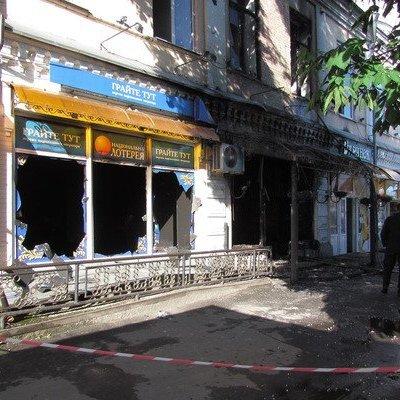 В Золотоноше неизвестный поджег лотерейный зал с людьми, есть жертвы