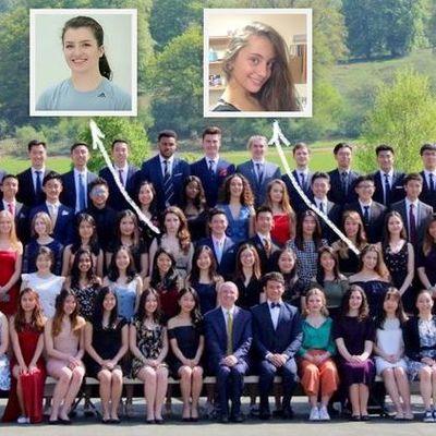 Дочки Порошенко выпустились из колледжа в Великобритании