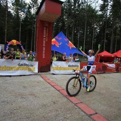 Украинка Беломоина завоевала первое золото в сезоне по маунтинбайку
