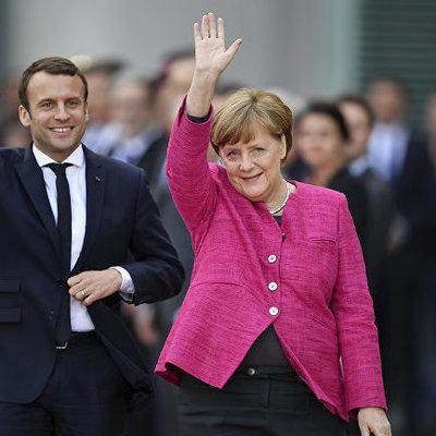 Меркель и Макрон на следующей неделе поедут в Москву