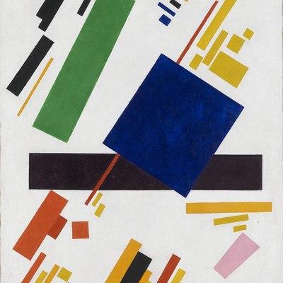 Картина Малевича с синим прямоугольником продана за $ 85 миллионов