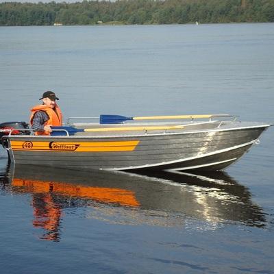 В Киевском море затонула лодка