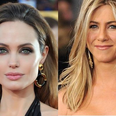 Известие о возможной беременности Дженнифер Энистон выбило Анджелину Джоли из колеи