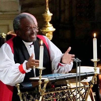 Звезда дня: эмоциональный пастор на свадьбе принца Гарри и Меган Маркл (видео)