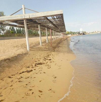 «Скоро вообще пляжа не останется»: появились новые фото из оккупированного Крыма