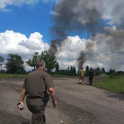 Обстрел боевиками окрестностей Торецка продолжается: среди военных есть раненые (фото)
