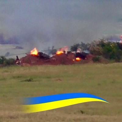 На Светлодарской дуге уничтожена передовая позиция боевиков (фото)