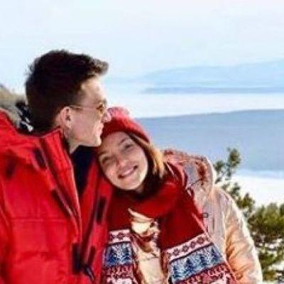 Регину Тодоренко застали за поцелуями с российским певцом