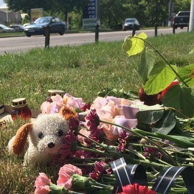 Под Киевом похоронили погибшую под колесами автобуса девочку