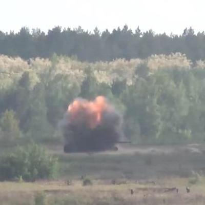 В Украине впервые прошли пуски ракетных комплексов Javelin (видео)