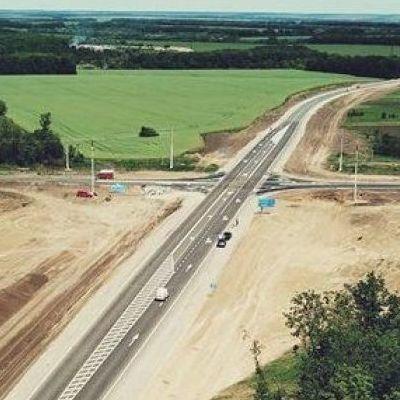 Впервые за 5 лет в Украине построили новую дорогу