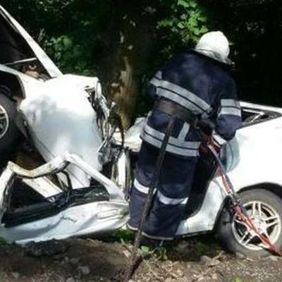 Жуткое смертельное ДТП: под Винницей автомобиль разорвало о дерево