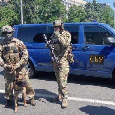 СБУ вывела на улицы Киева спецназ