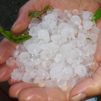 На Закарпатье обрушился мощный ливень с градом (фото)