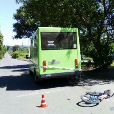 В Краматорске автобус переехал насмерть маленького велосипедиста